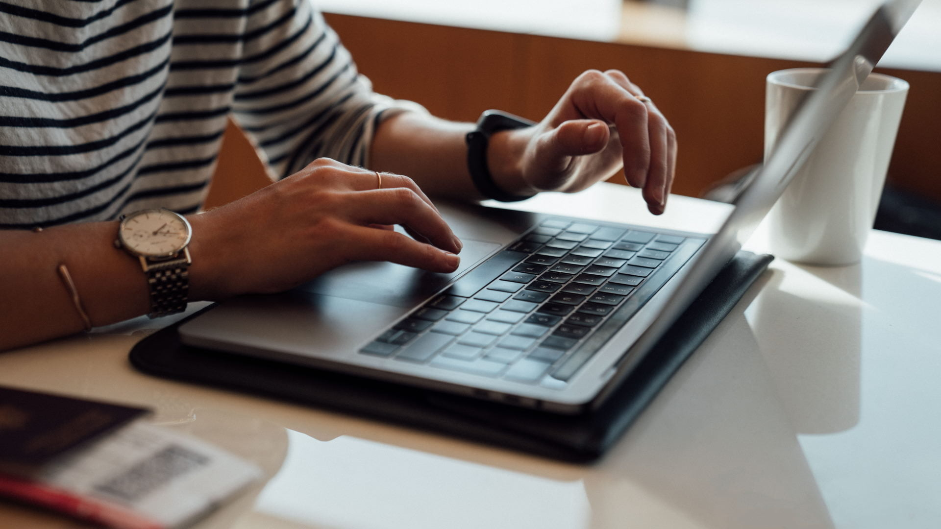person laptop stock unsplash
